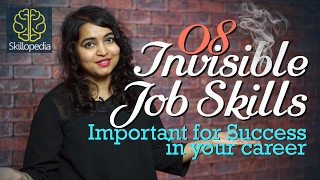 08 Invisible Job skills - How to be successful and develop confidence (Motivational speech)
