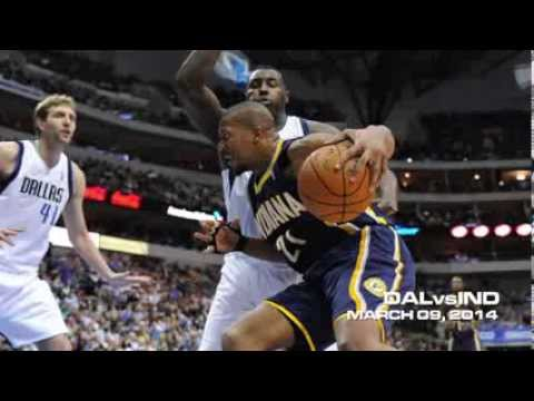 DALLAS MAVERICKS  vs INDIANA PACERS HIGHLIGHTS 03.09.2014