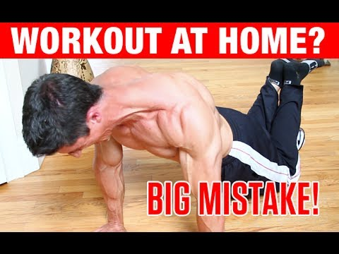 Top 4 Home Bodyweight Workout Mistakes!!