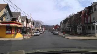 Driving by Reading,Pennsylvania