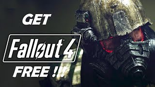 How To Get Fallout 4 for FREE on PC [Windows 7/8/8.1/10]