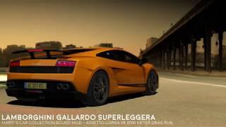 Lamborghini Gallardo SL 2000m Drag Run - Assetto Corsa VR Sound Mod