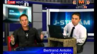 J-Stream - Bertrand Antolin - Talk Show - Mivo.TV