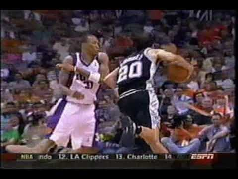 Top 10 NBA Manu Ginobili Video