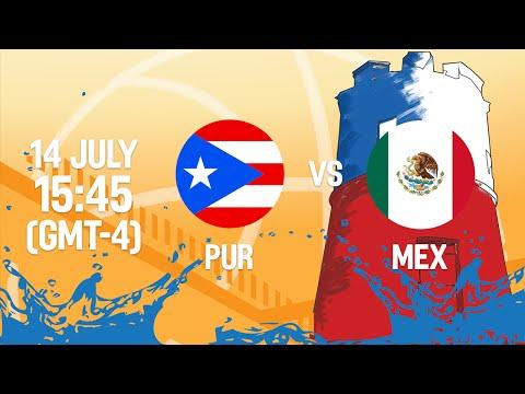 Puerto Rico v Mexico - Full Game - Group B - 2016 FIBA Americas U18 Women's Championship