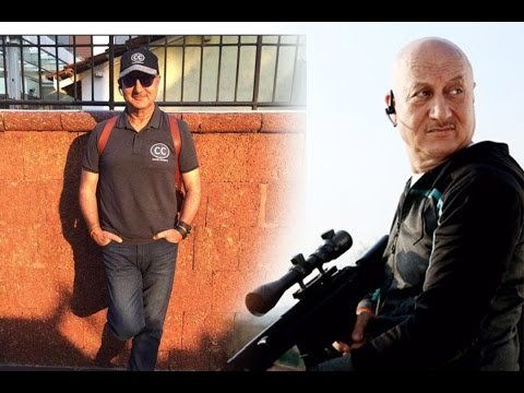 "Anupam Kher Reveals his ""Intense Look"" !"