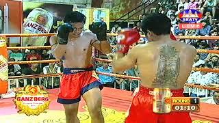 Kun Khmer, ថុល មករា Vs ថៃ, Thol Makara (Cam) Vs Denpichit (Thai), SEATV boxing 3 Nov 2018
