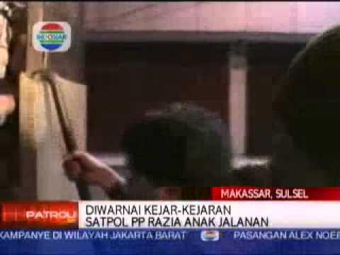 Rahman Muchtar   Satpol PP Razia Anak Jalanan