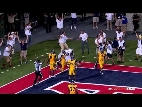 Austin Hill Game-Winning TD vs. California