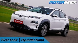 Hyundai Kona Electric Review - 452 Kms Range! | MotorBeam