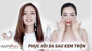 Review Bộ Sản Phẩm Thần Thánh Cho Da Mụn, Phục Hồi Da Hư Tổn, Nhạy Cảm | Happy Skin