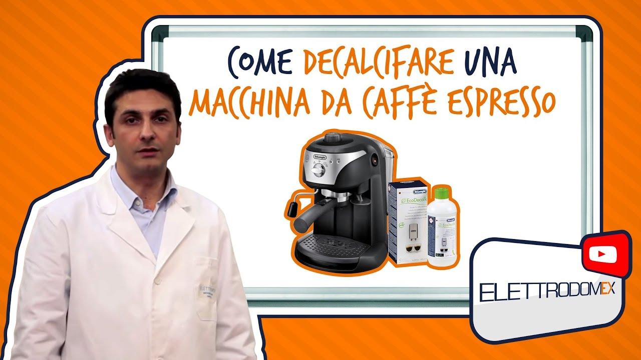 Come decalcificare una macchina per il caff espresso for Costo del garage di una macchina