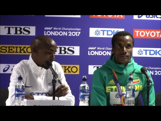 Men's 5000m Full Press Conference