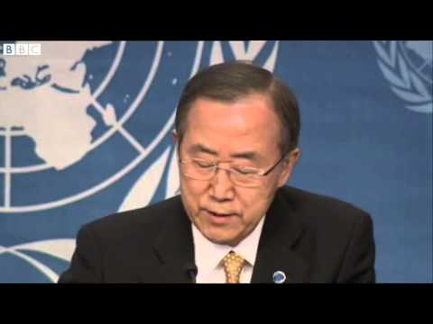 Syria conflict: Ban Ki-moon says 'enough is enough'