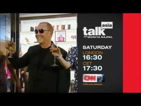 "CNN International ""Talk Asia: Michael Kors"" promo"