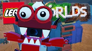 Lego Worlds | BURNARD & THE SCRAPYARD!! [#7]