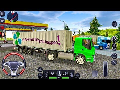 Truck Simulator 2018 Europe #22 - Truck Games Android gameplay