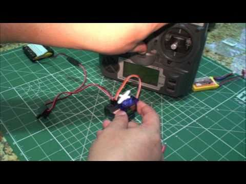 RC Bind Turnigy 9X V2 with HK TR6A V2 6Ch 2.4GHz rx (with alternative soundtrack)