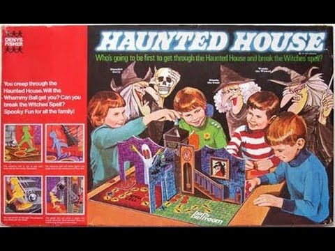 Ghostly Vintage Toys & Games. and Mail-Order Disappointments