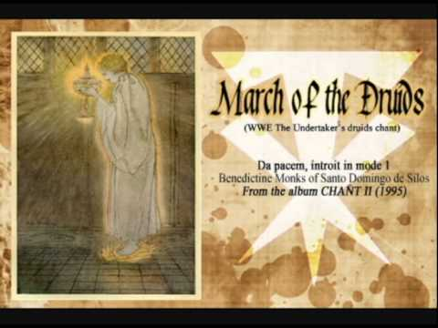 'march Of The Druids' (undertaker's Druids Theme) video