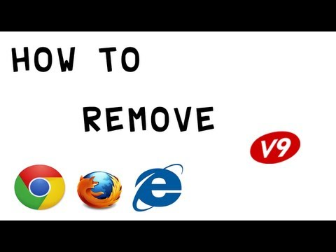 How To Remove V9 Portal Site ( Chrome. Firefox. iE ) (HD)
