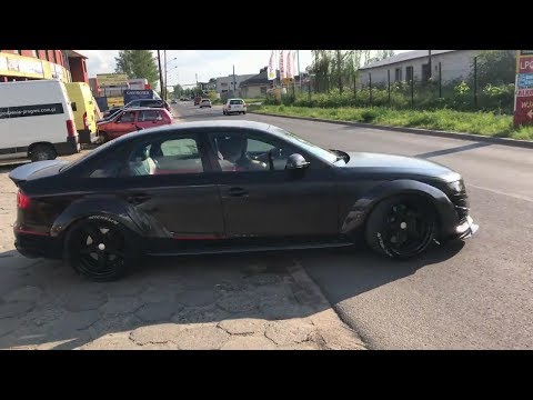 Audi A4 V8 Sedan Brutal Revs & Acceleration w/ Armytrix Exhaust By BEST-Performance