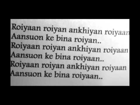 Farhan Saeed Roiyaan (Lyrics)