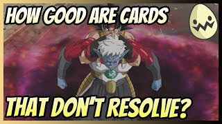 How Good Are Cards That Don't Resolve?