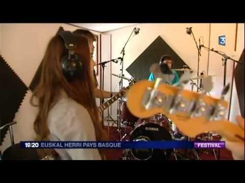 Reportage sur Blastwave en Studio (France 3 Euskal Herri Pays Basque)