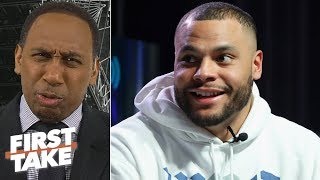 'You give this man that money!' - Stephen A. on Dak Prescott's contract desires | First Take