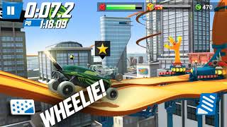 Hot Wheel Race Off - Fast Jumping Racing Car | Woof Wolf Kids Gaming #1