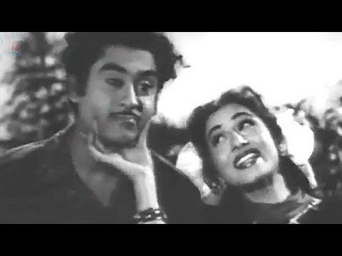 Ankhon Mein Tum Ho - Kishore Kumar, Madhubala, Half Ticket Comedy Song video