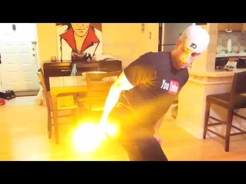 LIGHTING FARTS ON FIRE!