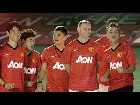 Nidji - Liberty And Victory (manchester United Anthem) video