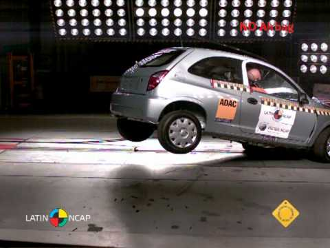 Chevrolet Celta - Crash test - Latin NCAP 2011