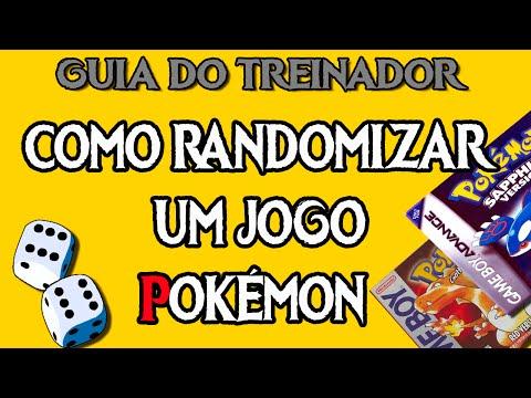Como Randomizar um Jogo Pokémon?