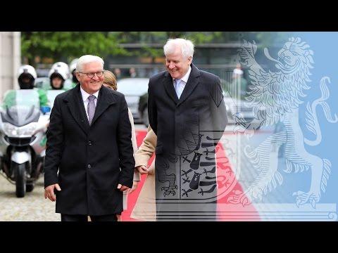 BundesprГsident Steinmeier in Bayern - Bayern