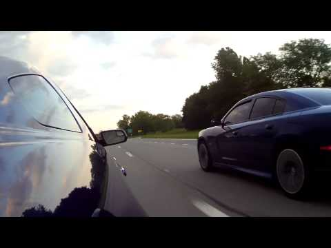 2013 Mustang GT 5.0 VS 2012 Charger SRT8 392 (rematch)
