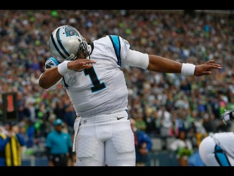 CAM NEWTON... LOOK @ MY DAB!!!