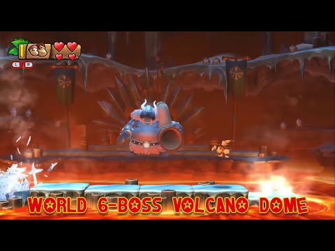 Donkey Kong Country: Tropical Freeze - All Boss Fights! 100%!
