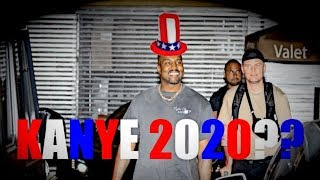 EXCLUSIVE - Kanye West Is Asked About A Possible Presidential Run And Can