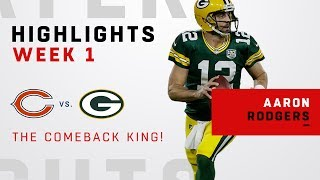 Aaron Rodgers' EPIC 17-Pt Comeback after First-Half Injury!