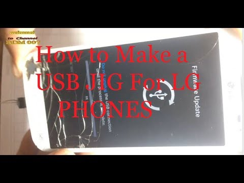 How To make LG-Andriod Phones Donload Mode USB JIG    Download Mode USB JIG for LG