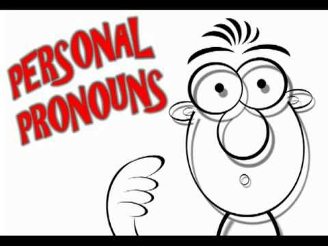 Fun Video for Preschool and Older - The Personal Pronoun Song