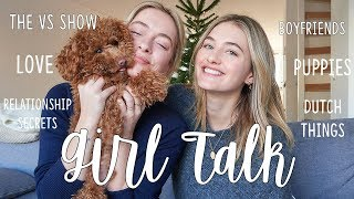 Girl Talk Q & A | Victoria's Secret, Boy's, Puppies, & Being Dutch | Sanne Vloet
