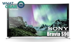SONY - S90 - 4k Curved LED TV - WhatGear Review