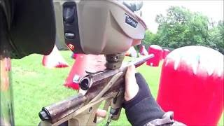 PAINTBALL FAIL! Shot In The Camera