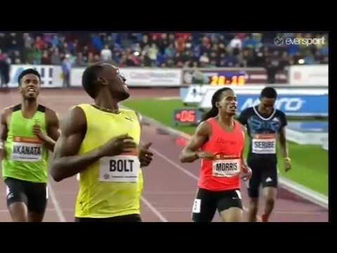 54th Ostrava Golden Spike men 200m - Usain Bolt wins in 20.13
