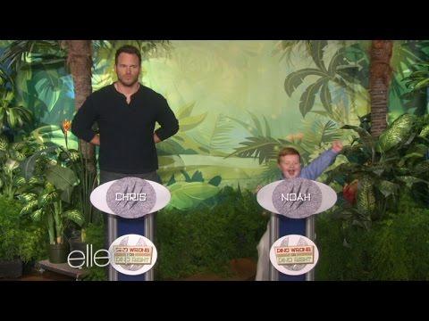 Apparently Kid Totally Schools Chris Pratt On Dinosaur Knowledge video