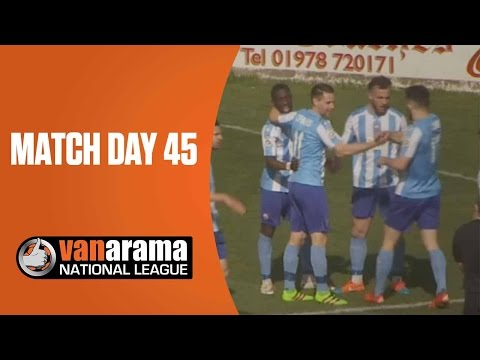 National League Highlights Show - Match Day 45